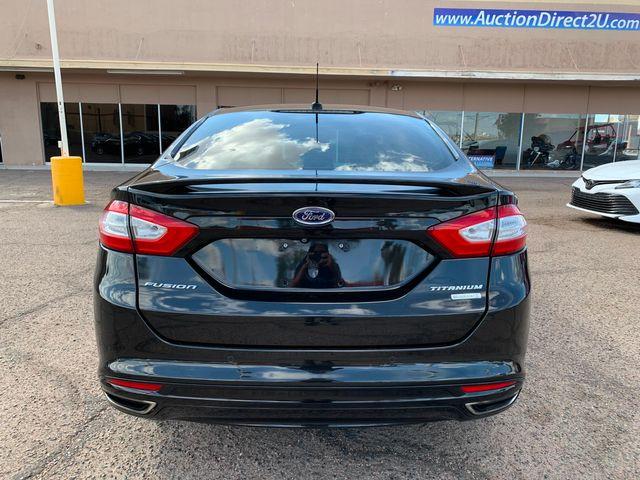 2014 Ford Fusion Titanium 3 MONTH/3,000 MILE NATIONAL POWERTRAIN WARRANTY Mesa, Arizona 3