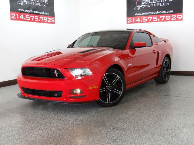 2014 Ford Mustang GT Coupe, LEATHER SEATS, BLUETOOTH, REAR SPOILER in Carrollton, TX 75006