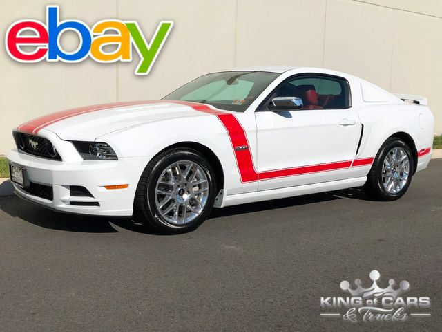 2014 Ford Mustang Gt PREMIUM RED INT 5.0L V8 6-SPD ONLY 3K ACTUAL MILES 1-OWNER