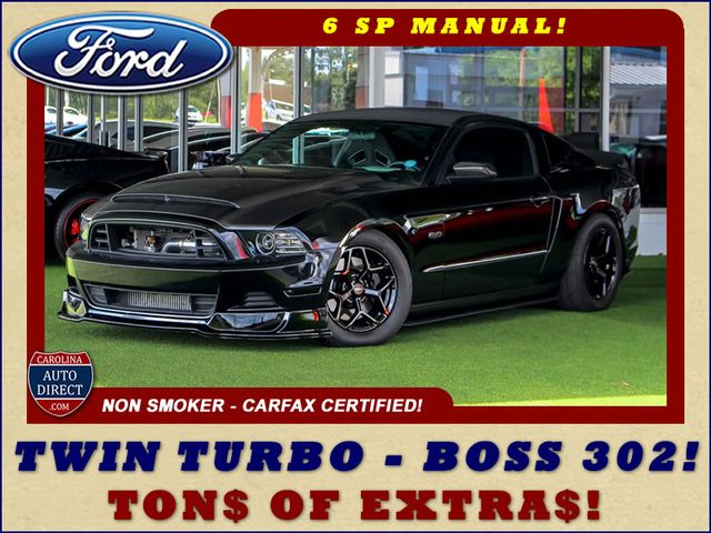 2014 Ford Mustang GT TRACK PKG - TWIN TURBO - TON$ OF UPGRADE$! Mooresville , NC 0