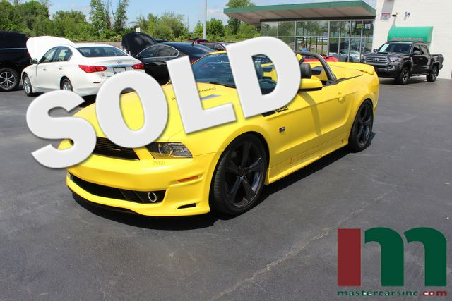 2014 Ford Mustang Saleen 302 SC Black Label | Granite City, Illinois | MasterCars Company Inc. in Granite City Illinois