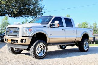 2014 Ford Super Duty F-250 Crew Cab King Ranch 4x4 6.7L Powerstroke Diesel Auto LIFTED Sealy, Texas 5