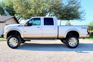 2014 Ford Super Duty F-250 Crew Cab King Ranch 4x4 6.7L Powerstroke Diesel Auto LIFTED Sealy, Texas 6