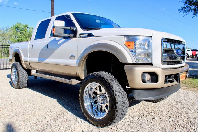 2014 Ford Super Duty F-250 Crew Cab King Ranch 4x4 6.7L Powerstroke Diesel Auto LIFTED