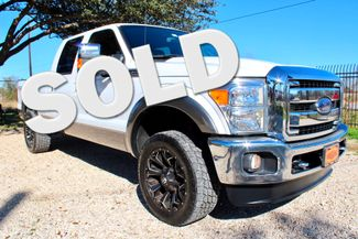 2014 Ford Super Duty F-250 Lariat Crew Cab 4x4 6.7L Powerstroke Diesel Auto Sealy, Texas