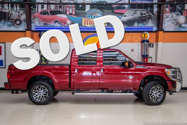 2014 Ford Super Duty F-250 Pickup Platinum