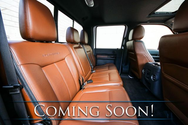 2014 Ford Super Duty F-250 Super Duty Platinum 4x4 w/ Nav, Backup Cam, Heated Steering Wheel and Tow Pkg in Eau Claire, Wisconsin 54703