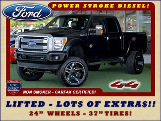 2014 Ford Super Duty F-250 Pickup Platinum Crew Cab 4x4 - LIFTED - LOT$ OF EXTRA$! Mooresville , NC