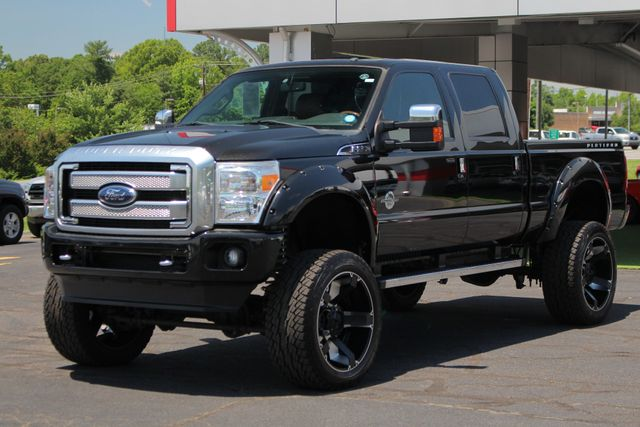 2014 Ford Super Duty F-250 Pickup Platinum Crew Cab 4x4 - LIFTED - LOT$ OF EXTRA$! Mooresville , NC 25