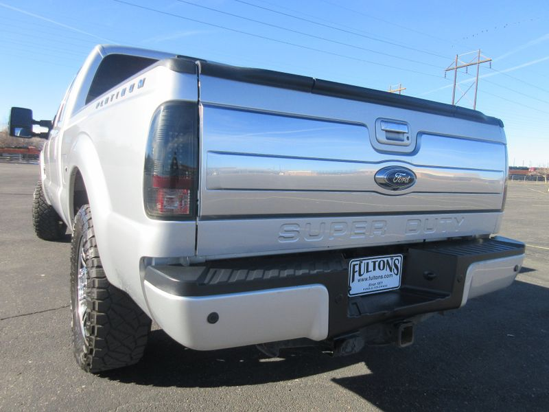 2014 Ford Super Duty F-250 Crew 4X4 Platinum 67L Diesel  Fultons Used Cars Inc  in , Colorado