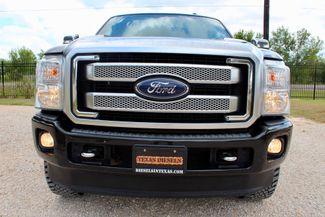 2014 Ford Super Duty F-250 Platinum 4X4 6.7L Powerstroke Diesel Auto Sealy, Texas 13