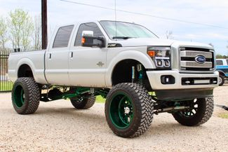 2014 Ford Super Duty F-250 Platinum Crew Cab 4x4 6.7L Powerstroke Diesel Auto LIFTED Sealy, Texas 1
