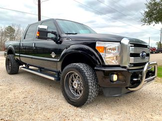 2014 Ford Super Duty F-250 Platinum Crew Cab 4X4 6.7L Powerstroke Diesel Auto in Sealy, Texas 77474