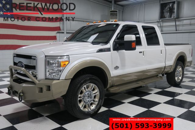2014 Ford Super Duty F-250 King Ranch 4x4 Diesel Nav 20s Low Miles 1 Owner