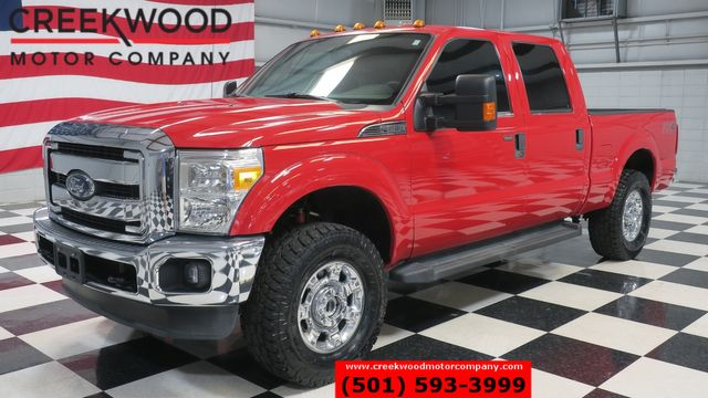 2014 Ford Super Duty F-250 XLT 4x4 6.2L Gas Red Chrome 18s New Tires LowMiles in Searcy, AR 72143