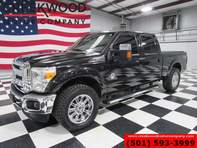 2014 Ford Super Duty F-250 Lariat 4x4 Diesel 1 Owner New Tires 20s Nav Roof