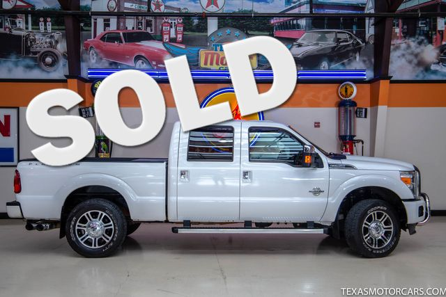 2014 Ford Super Duty F-250 SRW Pickup Platinum 4x4