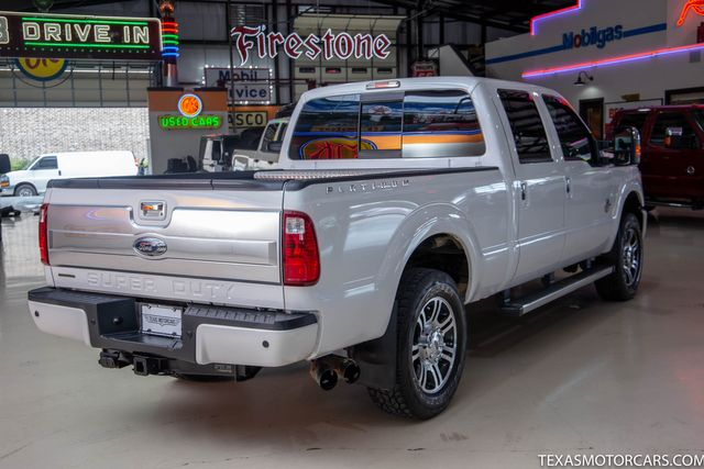 2014 Ford Super Duty F-250 SRW Pickup Platinum 4x4 in Addison, Texas 75001