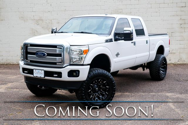 2014 Ford Super Duty F-250 Super Duty Platinum 4x4 w/ Nav, Backup Cam, Heated Steering Wheel and Tow Pkg