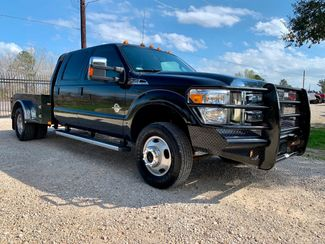 2014 Ford Super Duty F-350 DRW Lariat Crew Cab 4X4 6.7L Powerstroke Diesel Auto CM Flatbed ER Model in Sealy, Texas 77474