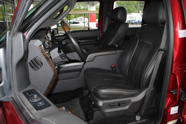 2014 Ford Super Duty F-350 SRW Pickup Platinum Crew Cab 4x4 - NAVIGATION Mooresville , NC 7