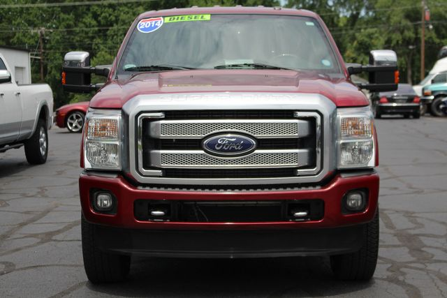 2014 Ford Super Duty F-350 SRW Pickup Platinum Crew Cab 4x4 - NAVIGATION Mooresville , NC 15