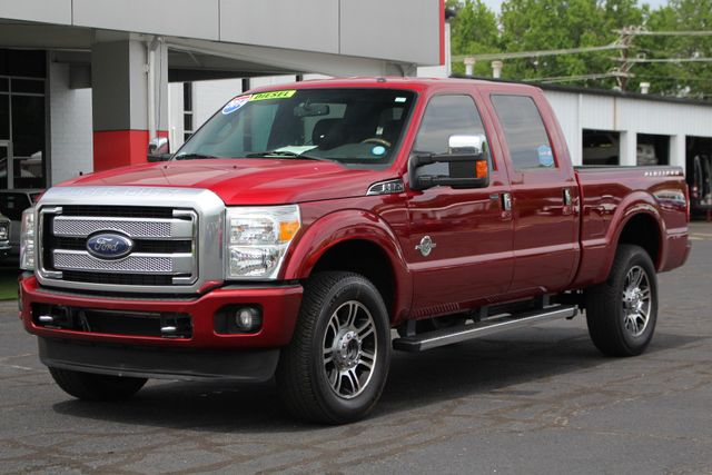 2014 Ford Super Duty F-350 SRW Pickup Platinum Crew Cab 4x4 - NAVIGATION Mooresville , NC 23