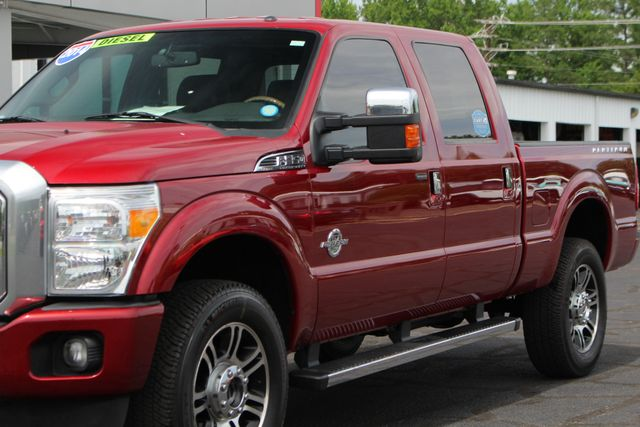 2014 Ford Super Duty F-350 SRW Pickup Platinum Crew Cab 4x4 - NAVIGATION Mooresville , NC 27