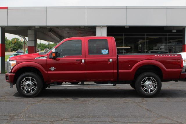 2014 Ford Super Duty F-350 SRW Pickup Platinum Crew Cab 4x4 - NAVIGATION Mooresville , NC 14