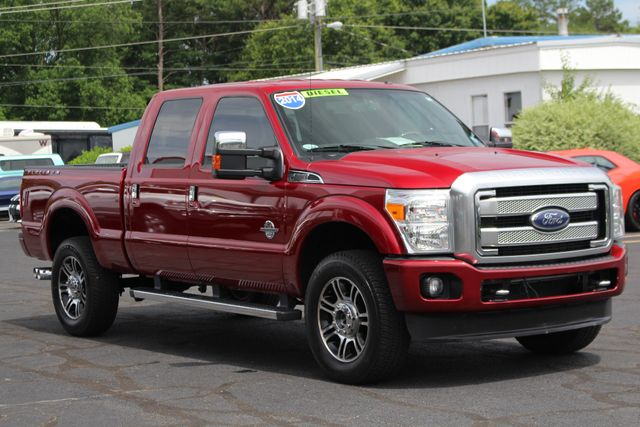 2014 Ford Super Duty F-350 SRW Pickup Platinum Crew Cab 4x4 - NAVIGATION Mooresville , NC 22