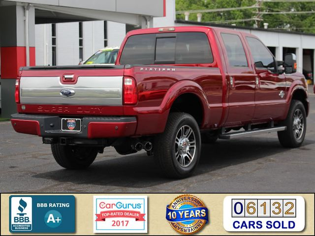 2014 Ford Super Duty F-350 SRW Pickup Platinum Crew Cab 4x4 - NAVIGATION Mooresville , NC 2