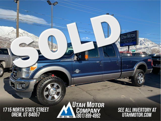 2014 Ford Super Duty F-350 SRW Pickup Lariat   Orem, Utah   Utah Motor Company in  Utah