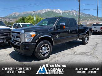 2014 Ford Super Duty F-350 SRW Pickup Platinum | Orem, Utah | Utah Motor Company in  Utah