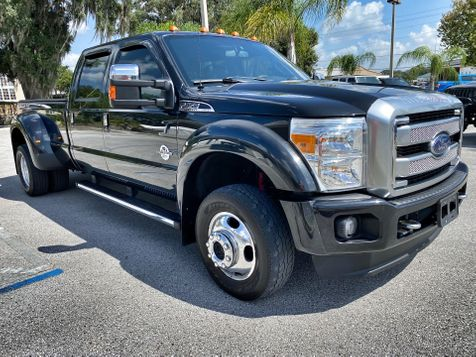 2014 Ford Super Duty F-450 Pickup PLATINUM DUALLY 4X4 DIESEL POWER STROKE in Plant City, Florida