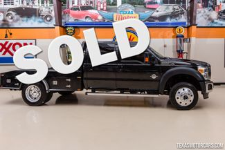 2014 Ford Super Duty F-550 DRW Chassis Cab Lariat 4X4 Flatbed in Addison Texas, 75001