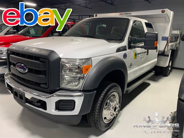 2014 Ford Super Duty F-550 DRW Chassis Cab XLT