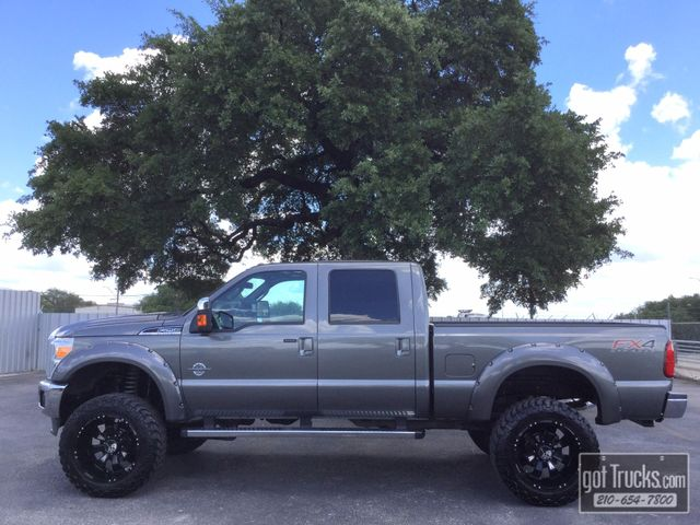 2014 Ford Super Duty F250 Crew Cab Lariat 6.7L Power Stroke Diesel 4X4