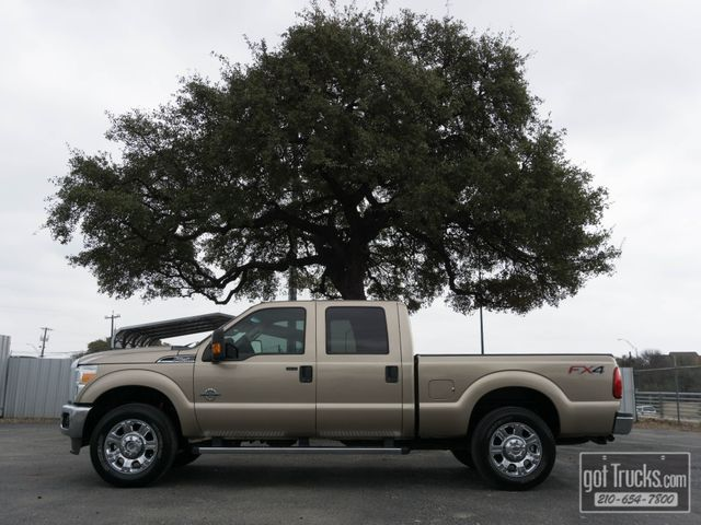 2014 Ford Super Duty F250 Crew Cab XLT FX4 6.7L Power Stroke Diesel 4X4