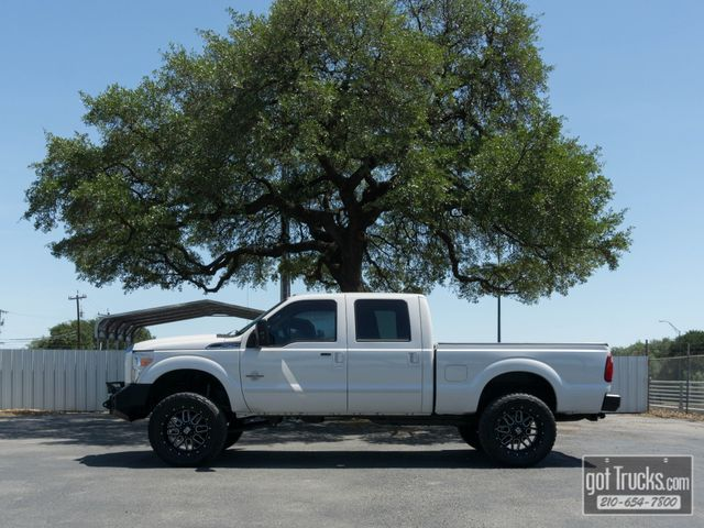 2014 Ford Super Duty F250 Crew Cab Lariat FX4 6.7L Power Stroke Diesel 4X4