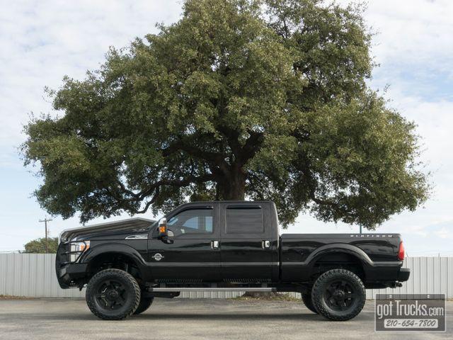 2014 Ford Super Duty F250 Crew Cab Platinum 6.7L Power Stroke Diesel 4X4