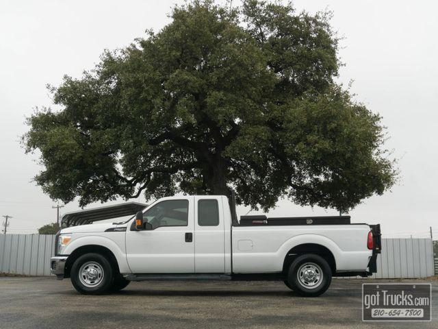 2014 Ford Super Duty F250 4 Door Extended Cab XL 6.2L V8