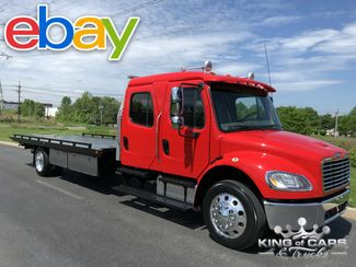 2014 Freightliner M2 Crew Dual -TECH ROLLBACK DIESEL LOW MILES 1-OWNER in Woodbury, New Jersey 08096