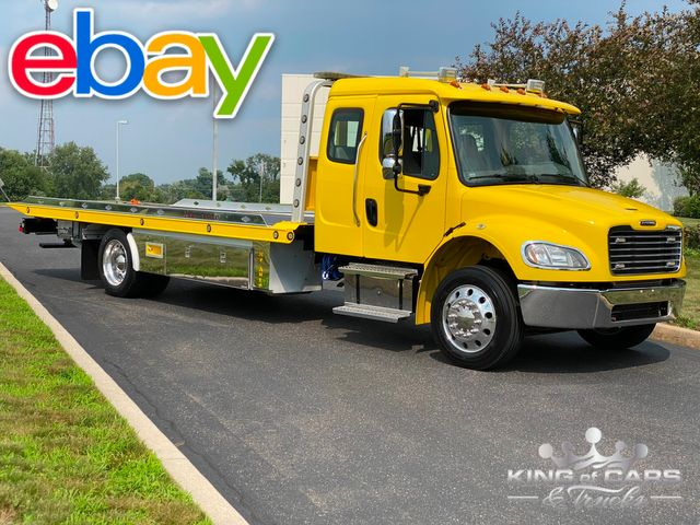 2014 Freightliner M2 Ext Cab CHEVRON 2-CAR ROLLBACK LOW MILES LOADED WOW in Woodbury, New Jersey 08093