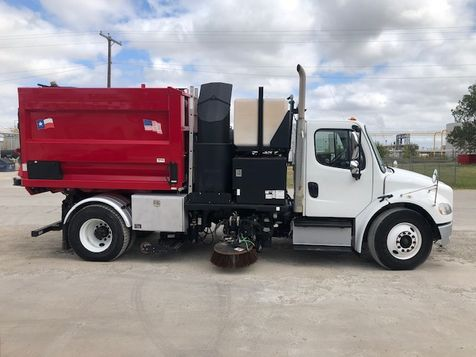2014 Freightliner M2106 Sweeper VACAL DUAL GUTTER SWEEPER  in Fort Worth, TX