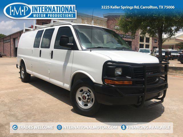 2014 GMC Savana Cargo Van Ext