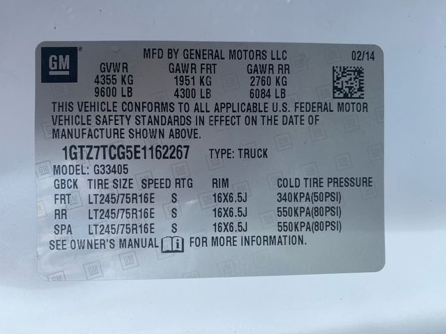 2014 GMC Savana Cargo Van Hoosick Falls, New York 7