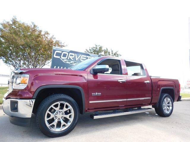 2014 GMC Sierra 1500 SLT Texas Edition, Auto, NAV, Chrome Wheels 41k