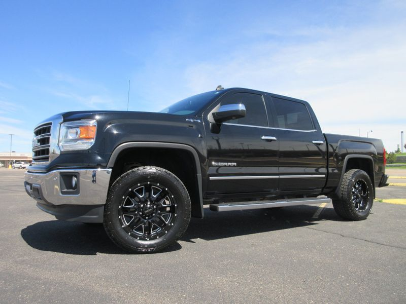 2014 GMC Sierra 1500 Crew Cab 4X4 SLT Lifted  Fultons Used Cars Inc  in , Colorado