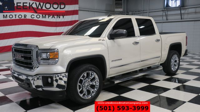 2014 GMC Sierra 1500 SLT 4x4 Z71 Pearl White Chrome 20s LeatherNav NICE in Searcy, AR 72143