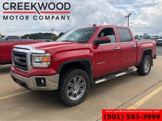 2014 GMC Sierra 1500 SLE 4x4 Red Leather Heated Chrome 20s 1 Owner NICE in Searcy, AR 72143